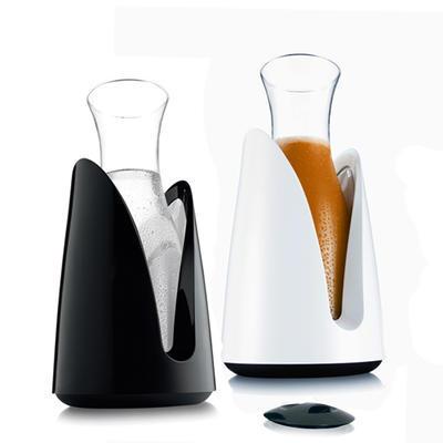 Chladič nápojů s karafou, bílý - 15 x 29,5 cm - 1
