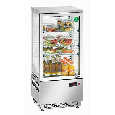 Chladicí mini vitrína 78 l Bartscher nerez, 430 x 390 x 986 mm - 78 l - 0,18 kW / 230 V - 1
