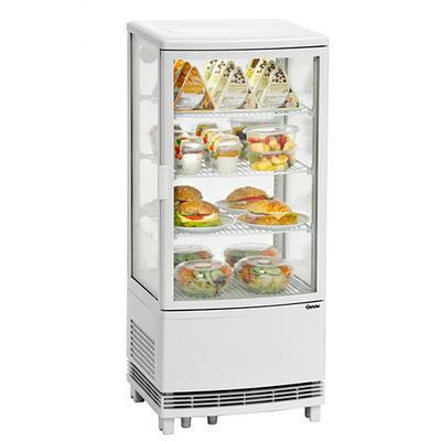 Chladicí mini vitrína 86 l samoobslužná Bartscher, 425 x 435 x 980 mm - 86 l - 0,18 kW / 230 V - 1