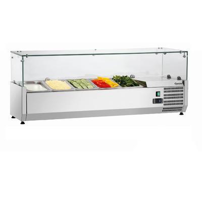 Chladicí nástavba 5 x GN 1/4 Bartscher, 5 x GN 1/4 - 1200 x 345 x 425 mm - 166W