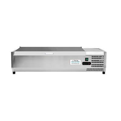 Chladicí nástavba VRX1400/380S na 6x GN 1/3, 1415 x 395 x 460 mm - 180 W / 220 V