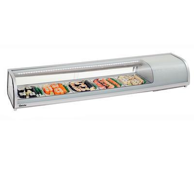 Chladicí nástavec Sushi bar 5 x GN 1/2 Bartscher, 5 x GN 1/2 - 1800 x 425 x 295 mm - 180 W / 230 V