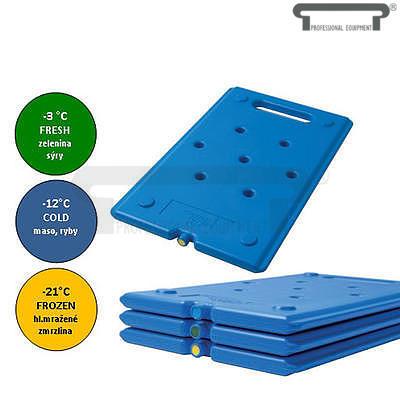 Chladicí udržovací vložka Cool Pack, modrá - -12 °C - 530 x 325 x 25 mm - 1