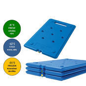 Chladicí udržovací vložka Cool Pack, modrá - -12 °C - 530 x 325 x 25 mm - 1/4