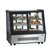 Chladicí vitrína 120 l samoobslužná DELI COOL II D Bartscher, 710 x 568 x 686 mm - 120 l - 0,16 kW / 230 V - 1/5