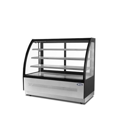 Chladicí vitrína oblá WDF-D, 365 l - 1200 x 750 x 1350 mm