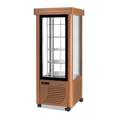 Chladicí vitrína Scaiola 400G Barocco, 400 l - 750 x 750 x 1860 mm - 230 V - 1