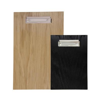 Desky s klipem na menu, A4 - 23 x 33 x 0,5 cm - mořená tmavá - 1