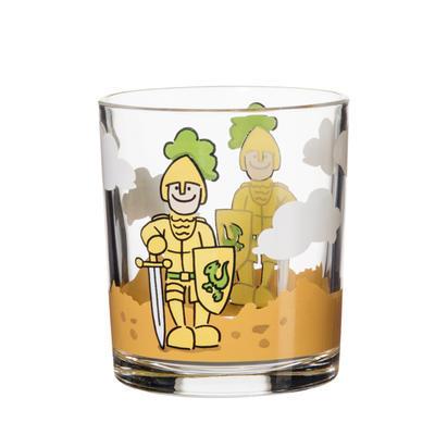 Dětská sklenice 22 cl Rytíř, 22 cl - 84 mm