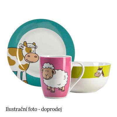 Dětský porcelán Farma, hrnek 29 cl - 100 mm