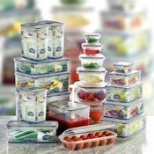 Dózy na potraviny Lock&Lock různé objemy, 13,5 x 10,2 x 5,2 cm - 0,35 l - 1/4