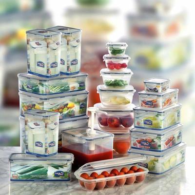 Dózy na potraviny Lock&Lock různé objemy, 26,0 x 18,0 x 9,3 cm - 2,6 l - 1
