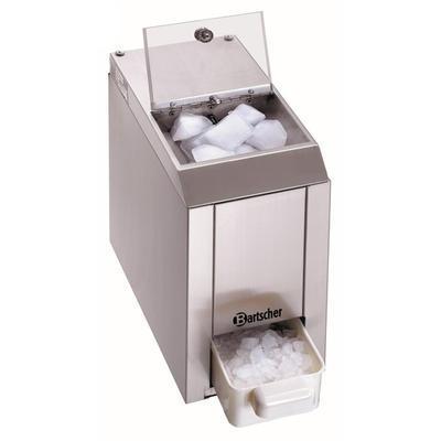 Drtič ledu Bartscher, 60 kg / hod. - 0,06 kW / 230 V - 173 x 380 x 385 mm - 1