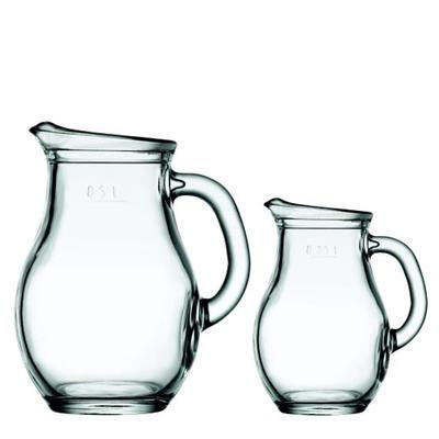 Džbán skleněný Bistro, 1,00 l - 20,1 cm