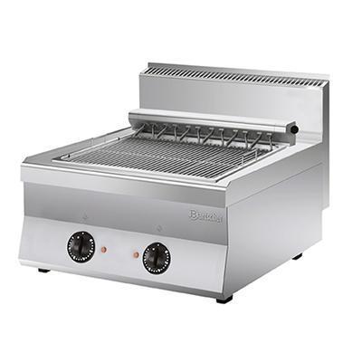 Elektrický grilovací rošt 650 2Z Bartscher, 800 x 650 x 295 mm - 8,16 kW / 400 V - 35 kg