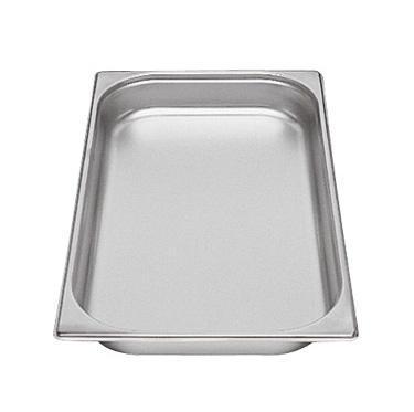 Gastronádoba GN 1/1 nerezová plná, 10 mm - 53 x 32,5 cm - 1,25 l - 1