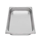 Gastronádoba GN 1/1 nerezová plná, 10 mm - 53 x 32,5 cm - 1,25 l - 1/2