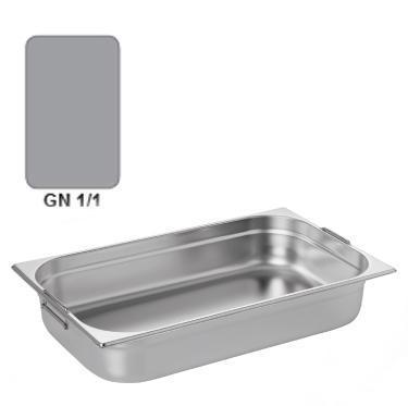 Gastronádoba GN 1/1 nerezová s uchy, 65 mm - 53 x 32,5 cm - 9,0 l - 1