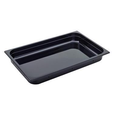 Gastronádoba GN 1/1 polykarbonátová černá, GN 1/1-65 mm