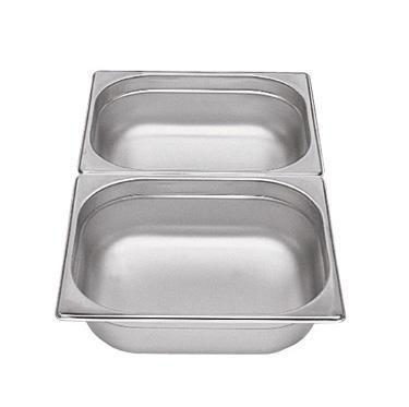 Gastronádoba GN 1/2 nerezová plná, 100 mm - 32,5 x 26,5 cm - 6,5 l - 1