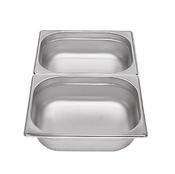 Gastronádoba GN 1/2 nerezová plná, 100 mm - 32,5 x 26,5 cm - 6,5 l - 1/2