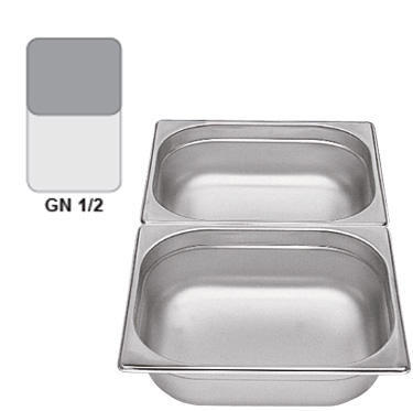 Gastronádoba GN 1/2 nerezová plná, 65 mm - 32,5 x 26,5 cm - 4,0 l - 1