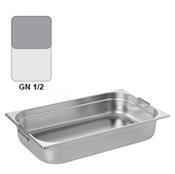 Gastronádoba GN 1/2 nerezová s uchy, 150 mm - 32,5 x 26,5 cm - 9,5 l - 1/3