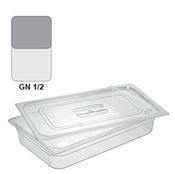 Gastronádoba GN 1/2 polykarbonátová, 100 mm - 32,5 x 26,5 cm - 6,1 l - 1/2