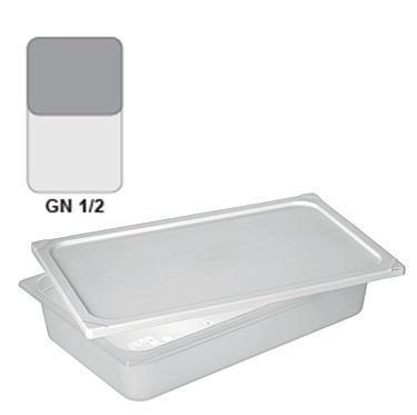 Gastronádoba GN 1/2 polypropylenová, 65 mm - 32,5 x 26,5 cm - 3,0 l - 1
