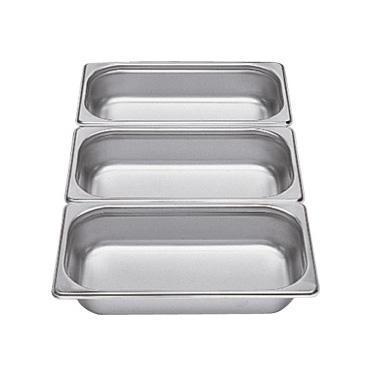 Gastronádoba GN 1/3 nerezová plná, 40 mm - 32,5 x 17,6 cm - 1,5 l - 1