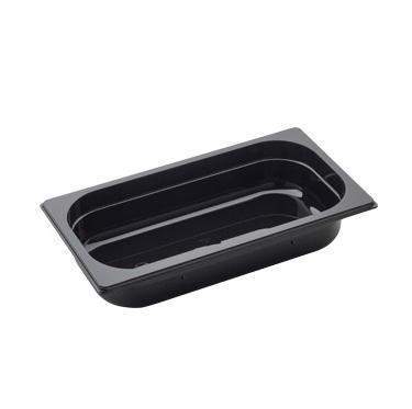 Gastronádoba GN 1/3 polykarbonátová černá, GN 1/3-200 mm