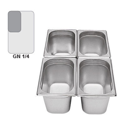 Gastronádoba GN 1/4 nerezová plná - 1