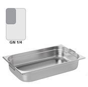 Gastronádoba GN 1/4 nerezová s uchy, 200 mm - 26,5 x 16,2 cm - 5,5 l - 1/3