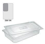 Gastronádoba GN 1/4 polykarbonátová, 100 mm - 26,5 x 16,2 cm - 2,6 l - 1/2