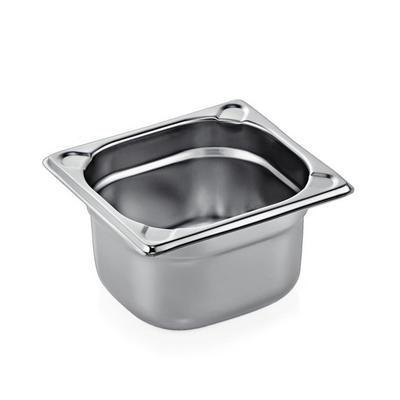 Gastronádoba GN 1/6 nerez plná zesílená, GN 1/6-150 - 2,4 l