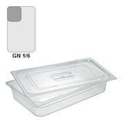 Gastronádoba GN 1/6 polykarbonátová, 150 mm - 17,6 x 16,2 cm - 2,3 l - 1/2