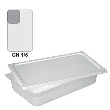 Gastronádoba GN 1/6 polypropylenová GN89, 65 mm - 17,6  x 16,2 cm - 0,7 l - 1