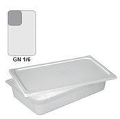 Gastronádoba GN 1/6 polypropylenová GN89, 65 mm - 17,6  x 16,2 cm - 0,7 l - 1/2