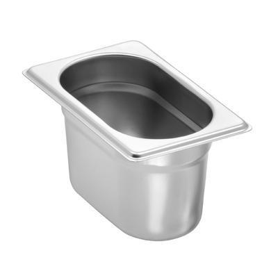 Gastronádoba GN 1/9 nerez Standard 0,5 mm, 150 mm - 17,6 x 10,8 cm - 1,5 l