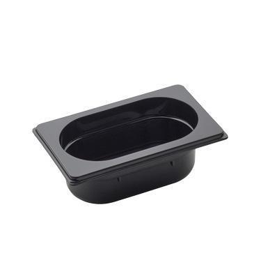 Gastronádoba GN 1/9 polykarbonátová černá