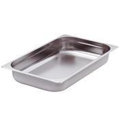 Gastronádoba GN 2/1 nerezová plná, 200 mm - 65 x 53 cm - 57,5 l - 1/2