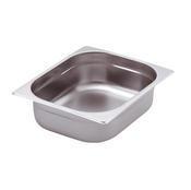 Gastronádoba GN 2/3 nerezová plná, 100 mm - 35,4 x 32,5 cm - 9,0 l - 1/2