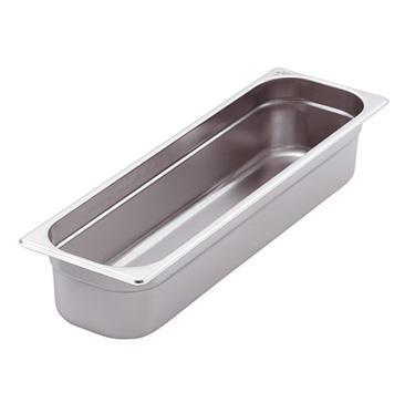 Gastronádoba GN 2/4 nerezová plná, 20 mm - 53 x 16,2 cm - 1,25 l - 1