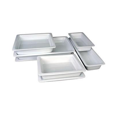 Gastronádoba porcelánová hloubka 65 mm, GN 2/4 - 53 x 16,2 cm - 3,0 l