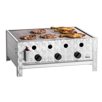 Gril stolní plynový 10 kW s roštem Bartscher, 685 x 540 x 275 mm - 10 kW - 13,7 kg - 1