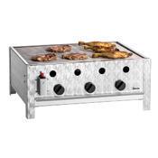 Gril stolní plynový 10 kW s roštem Bartscher, 685 x 540 x 275 mm - 10 kW - 13,7 kg - 1/4