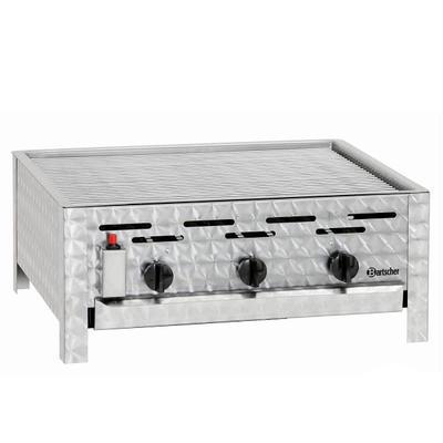 Gril stolní plynový 11 kW s roštem Bartscher, 650 x 570 x 270 mm - 11 kW / plyn - 17,5 kg