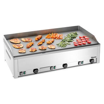 Grilovací deska elektrická se 3 hořáky Bartscher, 990 x 580 x 310 mm - 9 kW / 400 V - 68,6 kg - 1