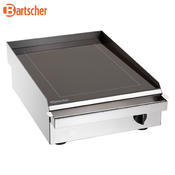 Grilovací deska skleněná Bartscher, 420 x 605 x 175 mm - 2,5 kW / 230 V - 10,1 kg - 1/2