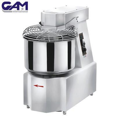 Hnětač těsta na pizzu GAM, 13 kg - 340 x 640 x 695 mm - 550W / 400V